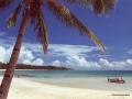 Bateau de pêche à l'îlot Faioa