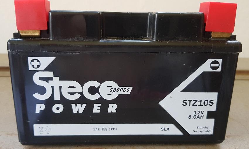 Batterie neuve pour Moto / Scooter / Jet-ski / Quad. Modèle STZ10S